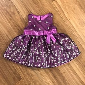 Other - Purple baby girl dress - 12m